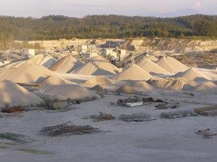Kies- und Sandgewinnung und -aufbereitung Werk 3