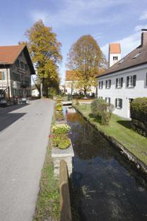 Ortschaft Huglfing